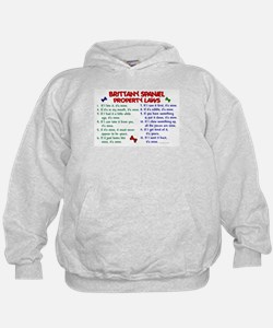 Brittany Spaniel Property Laws 2 Hoodie