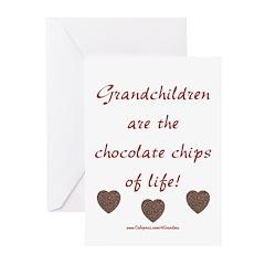 Grandkids & Chocolate Greeting Cards (Pk of 10)