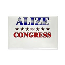 ALIZE for congress Rectangle Magnet