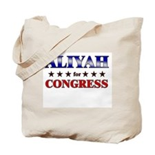 ALIYAH for congress Tote Bag