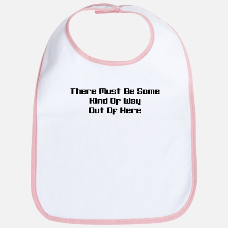 Out of Here Bib