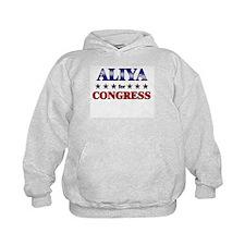 ALIYA for congress Hoodie