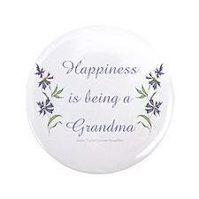 """Happy Grandma 3.5"""" Button"""