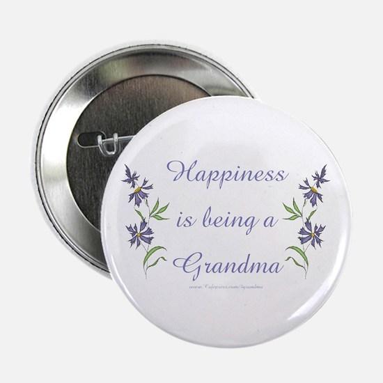 """Happy Grandma 2.25"""" Button"""