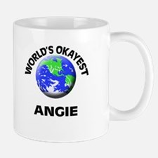 World's Okayest Angie Mugs