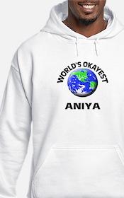 World's Okayest Aniya Hoodie Sweatshirt