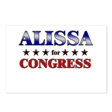 ALISSA for congress Postcards (Package of 8)