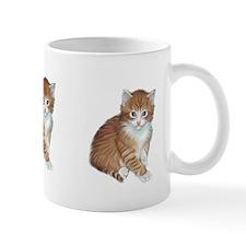 Orange Tabby Kitten Mug