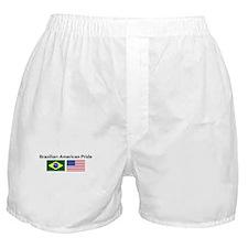 Brazilian American Pride Boxer Shorts