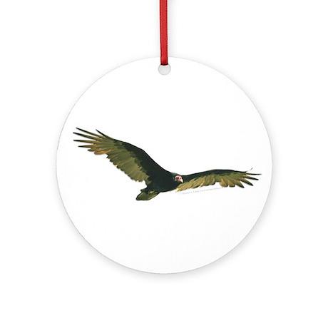 Turkey Vulture Ornament (Round)