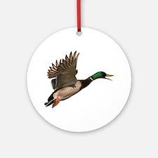 Mallard Drake Ornament (Round)