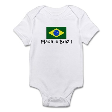 Made in Brazil Infant Bodysuit