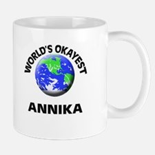 World's Okayest Annika Mugs