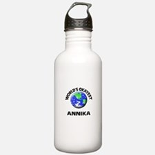 World's Okayest Annika Sports Water Bottle