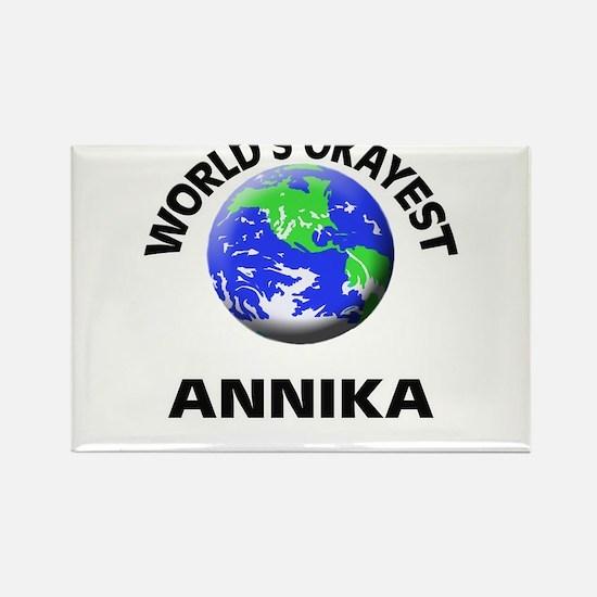 World's Okayest Annika Magnets