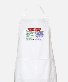 Border Terrier Property Laws 2 BBQ Apron