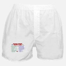 Border Terrier Property Laws 2 Boxer Shorts