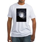 Earth Sky Fitted T-Shirt