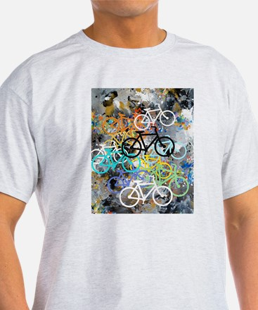 Bicycles Art T-Shirt