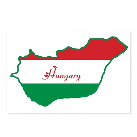 Cool Hungary Postcards (Package of 8)