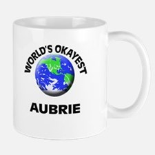 World's Okayest Aubrie Mugs