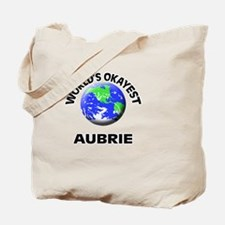 World's Okayest Aubrie Tote Bag