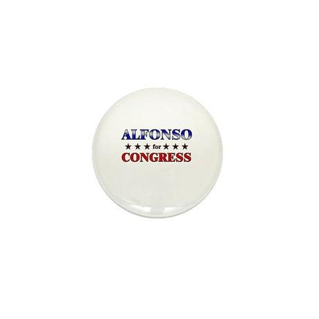 ALFONSO for congress Mini Button