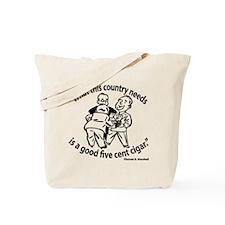 Cigar Smoker II Tote Bag