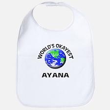 World's Okayest Ayana Bib