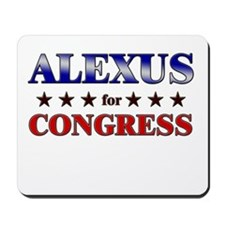 ALEXUS for congress Mousepad
