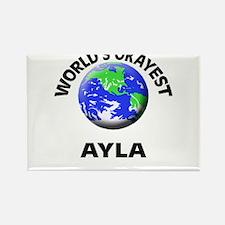 World's Okayest Ayla Magnets