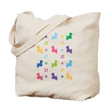 Westie Designer Tote Bag