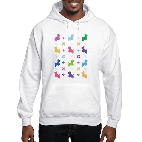Westie Designer Hooded Sweatshirt