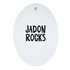 Jadon Rocks Oval Ornament