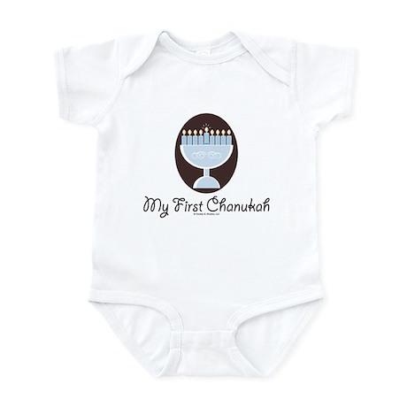 My First Chanukah Hanukkah Infant Onesie