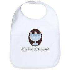 My First Chanukah Hanukkah Bib