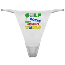 Golf Rocks Addyson's World - Classic Thong