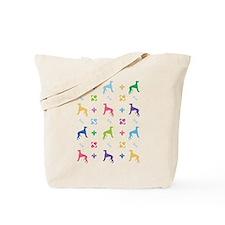Whippet Designer Tote Bag