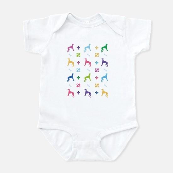 Whippet Designer Infant Bodysuit