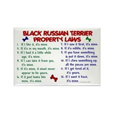 Black Russian Terrier Property Laws 2 Rectangle Ma