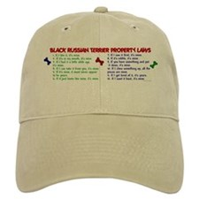 Black Russian Terrier Property Laws 2 Baseball Cap