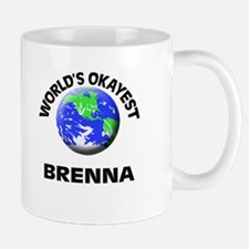 World's Okayest Brenna Mugs