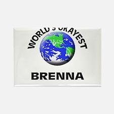 World's Okayest Brenna Magnets