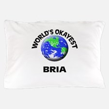 World's Okayest Bria Pillow Case