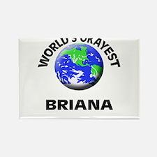 World's Okayest Briana Magnets