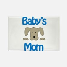 Baby's Mom Rectangle Magnet