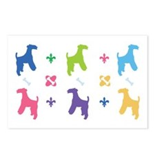 Wire Fox Terrier Designer Postcards (Package of 8)