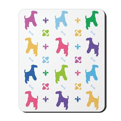Wire Fox Terrier Designer Mousepad