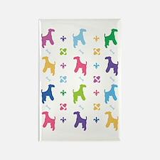 Wire Fox Terrier Designer Rectangle Magnet