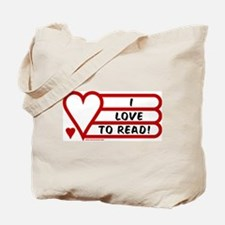 Love to Read Tote Bag